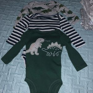 Carters baby boy 3 month onesies